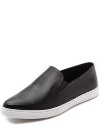 Zapatillas slip-on de cuero negras de IRO