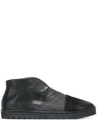 Zapatillas slip-on de cuero negras de Marsèll