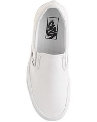 Zapatillas Slip,on de Lona Blancas de Vans