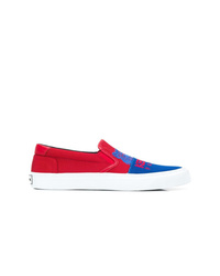 Zapatillas slip-on de lona en multicolor de Kenzo