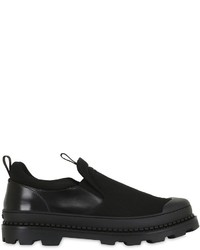 Zapatillas slip-on de lona negras