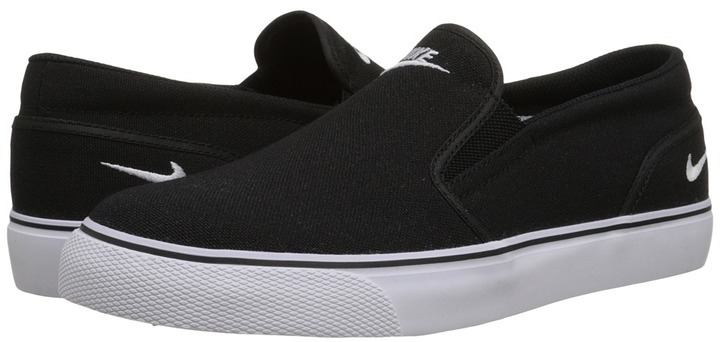 Zapatillas Slip,on de Lona Negras de Nike