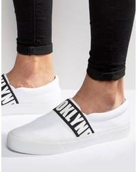Zapatillas Slip-on Estampadas Blancas de Asos