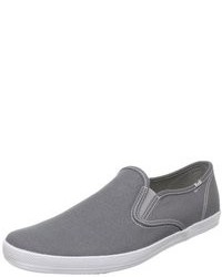 Zapatillas slip-on grises