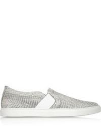 Zapatillas slip-on grises de Lanvin