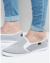 Zapatillas Slip-on Grises de Rock & Religion
