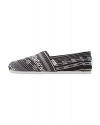 Zapatillas Slip-on Grises de Toms