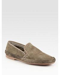 Zapatillas slip-on marrón claro