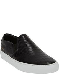Zapatillas slip-on negras