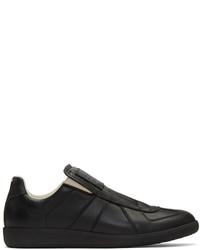 Zapatillas slip-on negras de Maison Margiela