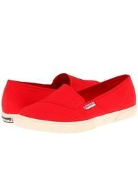 Zapatillas slip on rojas original 9765337