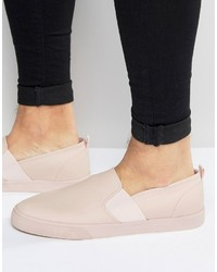 Zapatillas slip-on rosadas