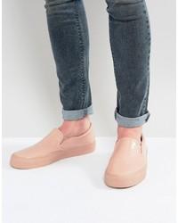 Zapatillas slip-on rosadas de Asos