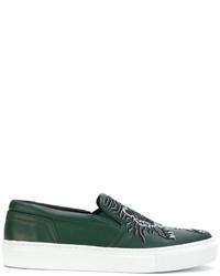 Zapatillas verde oscuro de Kenzo