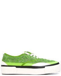 Zapatillas verdes de JULIEN DAVID