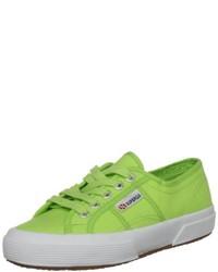 Zapatillas verdes de Superga