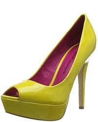 Zapatos Amarillos de Ladystar By Daniela Katzenberger