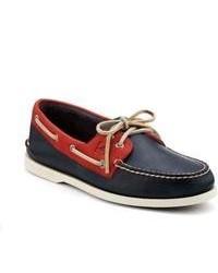 Zapatos Blancos y Rojos y Azul Marino
