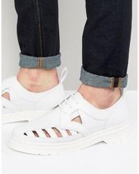 Zapatos Blancos de Dr. Martens