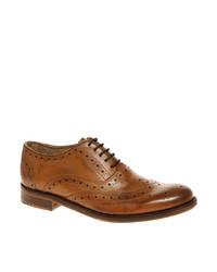 Zapatos brogue de cuero marrón claro de Ben Sherman