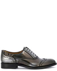 Zapatos brogue de cuero marrónes de Church's