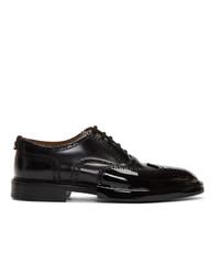 Zapatos brogue de cuero negros de Burberry