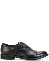 Zapatos brogue de cuero negros de Officine Creative