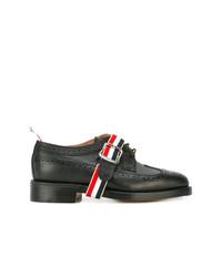 Zapatos brogue de cuero negros de Thom Browne