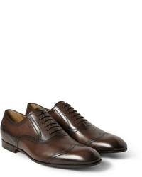 Zapatos brogue marron oscuro original 6731883