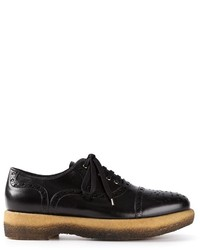 Zapatos brogue negros original 1565223