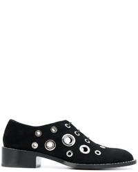 Zapatos brogue negros de Proenza Schouler