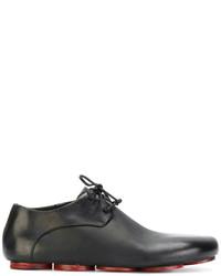 Zapatos con cordones de cuero negros de Marsèll
