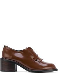 Zapatos con cordones marrones original 11478837