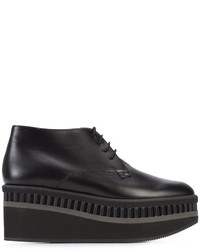 Zapatos con cordones negros de Robert Clergerie