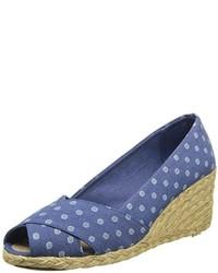 Zapatos con cuna azules original 9367499