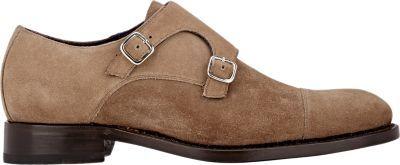 Zapatos Isaia Ante En Beige Con Hebilla De Dónde Y Comprar Doble rBqwrn10