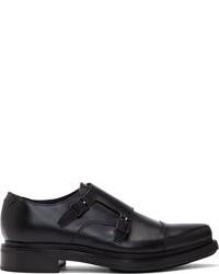 Zapatos con doble hebilla de cuero negros de Acne Studios