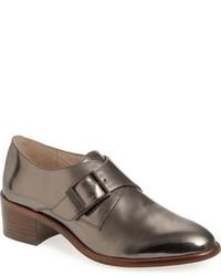 Zapatos con doble hebilla de cuero original 1574169
