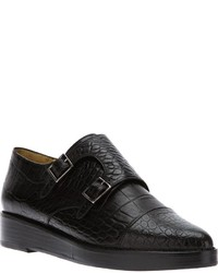 Zapatos con doble hebilla negros original 1570731