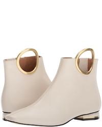 Zapatos con estampado geométrico blancos