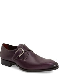 Zapatos con hebilla burdeos original 10600316