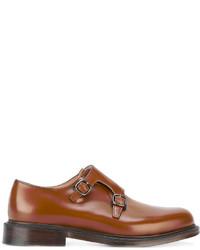 Zapatos con Hebilla de Cuero en Tabaco de Church's