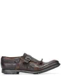 Zapatos con Hebilla de Cuero Marrónes de Church's
