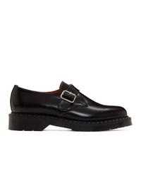 Zapatos con hebilla de cuero negros de Noah NYC