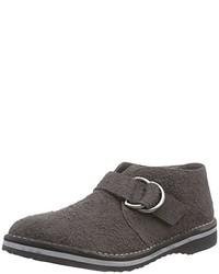 Zapatos con hebilla en gris oscuro de Geox