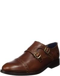 Zapatos con hebilla en marrón oscuro de El Ganso