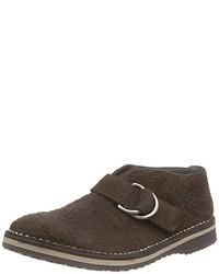 Zapatos con hebilla marrónes de Geox