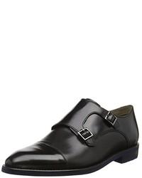 Zapatos con hebilla negros de Clarks