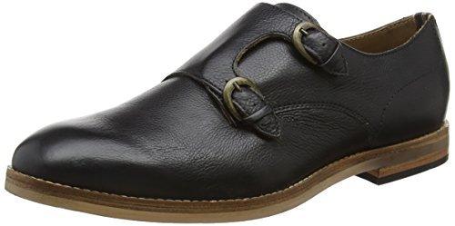 Zapatos con hebilla negros de Hudson