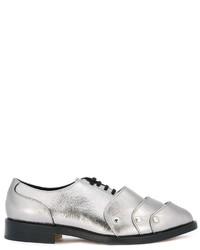 Zapatos de Cuero Blancos de Comme des Garcons